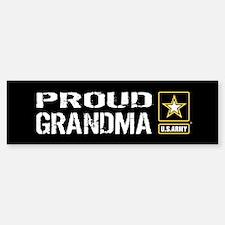 U.S. Army: Proud Grandma (B Bumper Bumper Sticker