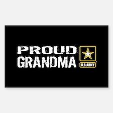 U.S. Army: Proud Grandma Decal