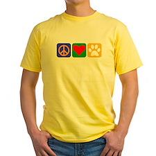 Peace Love Chihuahua T-Shirt