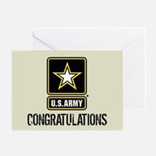 U.S. Army: Congratulations (Sand) Greeting Card