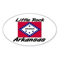 Little Rock Arkansas Oval Decal