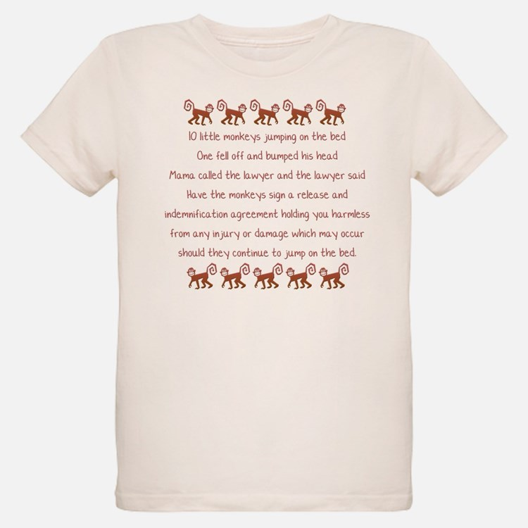 10 Little Monkeys T-Shirt