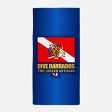 Dive Barbados Beach Towel