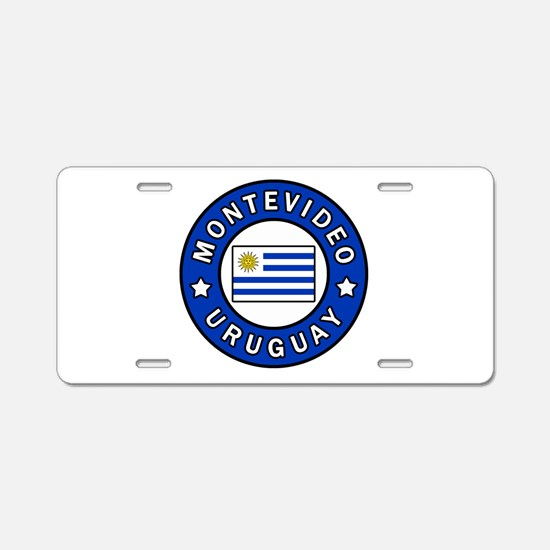 Montevideo Uruguay Aluminum License Plate