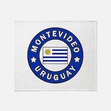 Montevideo Uruguay Throw Blanket