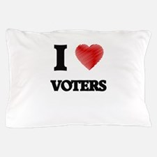 I love Voters Pillow Case