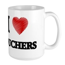 I love Vouchers Mugs