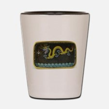 BRONZE_ENAMEL_DRAGON_Ancient_Chinese_Ar Shot Glass