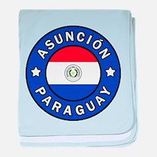 Asuncion Paraguay baby blanket