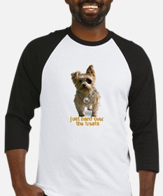 """pirate yorkie"" baseball jersey"