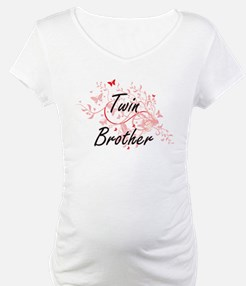 Twin Brother Artistic Design wit Shirt