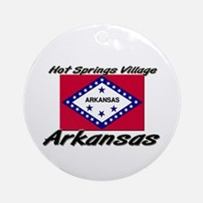 Hot Springs Village Arkansas Ornament (Round)