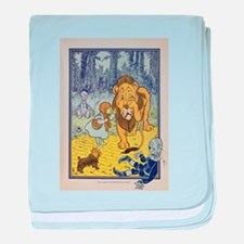Cowardly_Lion_from_Dorothy_Wizard_of_ baby blanket