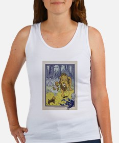 Cowardly_Lion_from_Dorothy_Wizard_of_Oz_1 Tank Top