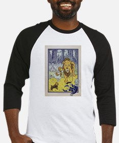 Cowardly_Lion_from_Dorothy_Wizard_ Baseball Jersey