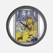 Cowardly_Lion_from_Dorothy_Wizard_of_Oz Wall Clock
