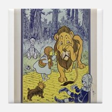 Cowardly_Lion_from_Dorothy_Wizard_of_ Tile Coaster