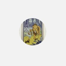 Cowardly_Lion_from_Dorothy_Wizard_of_O Mini Button