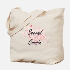 Second Cousin Artistic Design with Butter Tote Bag