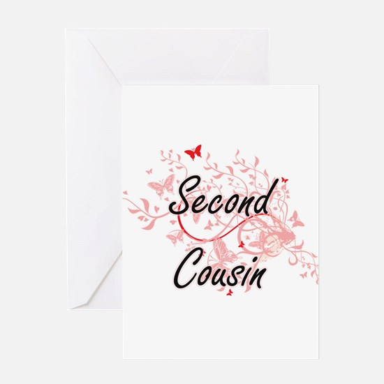 Second Cousin Artistic Design with Greeting Cards