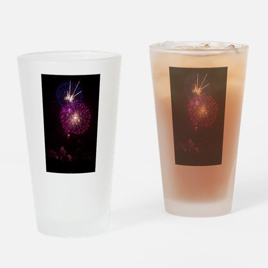 Vivid Surge Drinking Glass