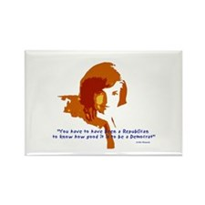 Jackie Kennedy Rectangle Magnet (100 pack)