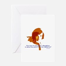 Jackie Kennedy Greeting Card