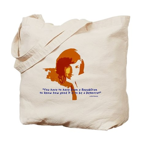 Jackie Kennedy Tote Bag