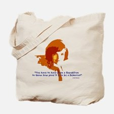 Jackie Kennedy Tote Bag