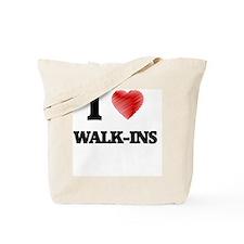 I love Walk-Ins Tote Bag