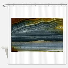 Agate-Blue-Horz-Crystal_Design Shower Curtain