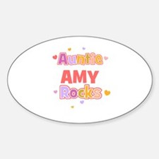 Amy Oval Decal