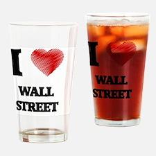 I love Wall Street Drinking Glass