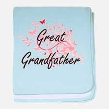 Great Grandfather Artistic Design wit baby blanket