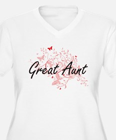 Great Aunt Artistic Design with Plus Size T-Shirt
