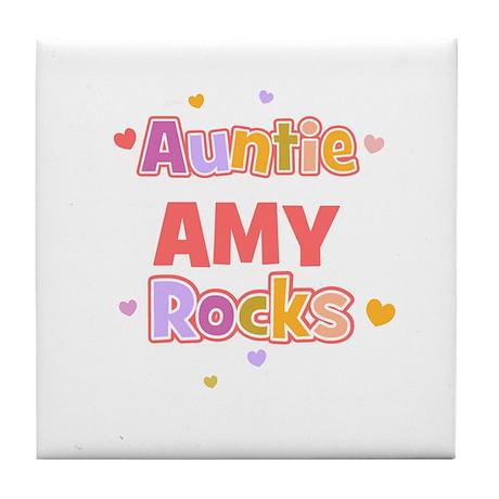 Amy Tile Coaster