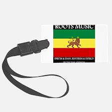 Roots-Music-Flag-Ethiopia Luggage Tag