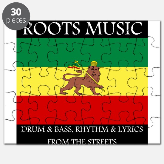 Roots-Music-Flag-Ethiopia Puzzle
