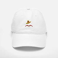 Pepper Moustache Baseball Baseball Baseball Cap