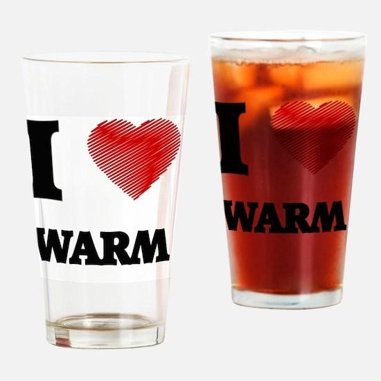 I love Warm Drinking Glass