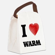 I love Warm Canvas Lunch Bag