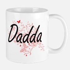 Dadda Artistic Design with Butterflies Mugs