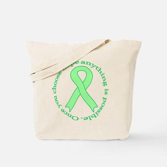 Lt. Green Hope Tote Bag