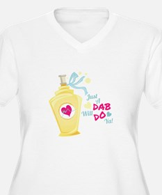 Just A Dab Plus Size T-Shirt