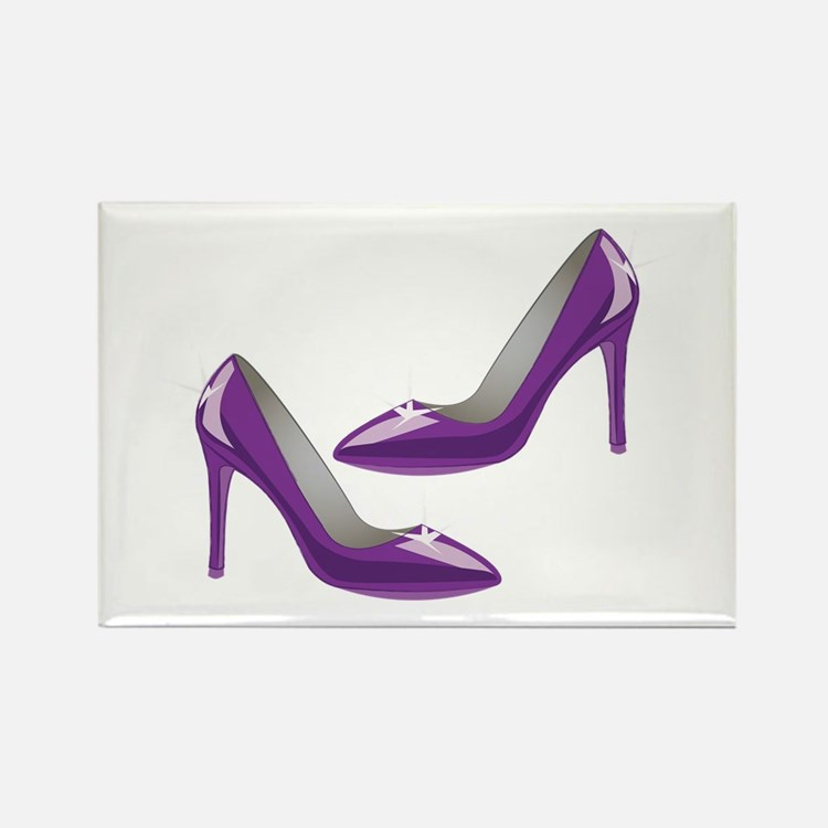 Purple Heels Magnets