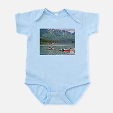 Float plane, Trail Lake, Alaska Body Suit