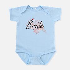 Bride Artistic Design with Butterflies Body Suit