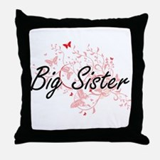 Big Sister Artistic Design with Butte Throw Pillow