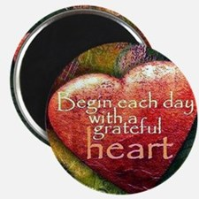 Begin Each Day Magnets