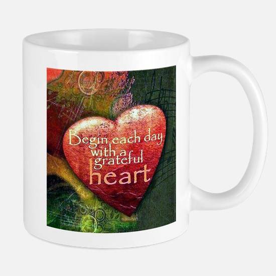 Begin Each Day Mugs